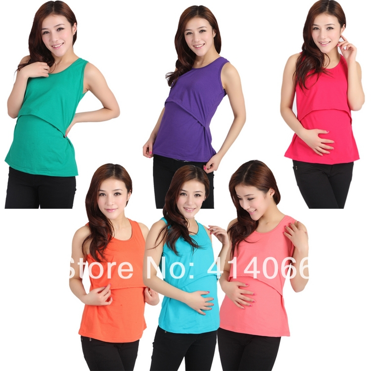 Для беременных грудное вскармливание топы уход футболки одежда женское бельё беременная женщина жилет лето