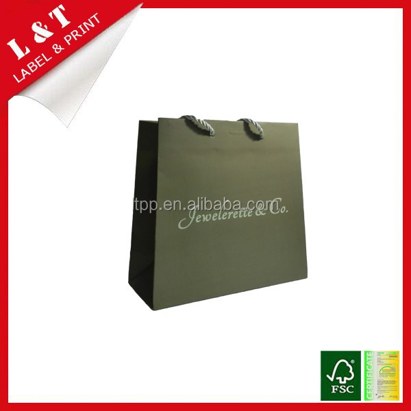 Shopping hand bag paper bag designer bag