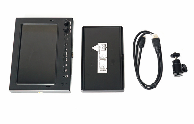 1024x600 CAME-TV 702-SDI 7 SDI and HDMI Pro-Broadcast HD Monitor