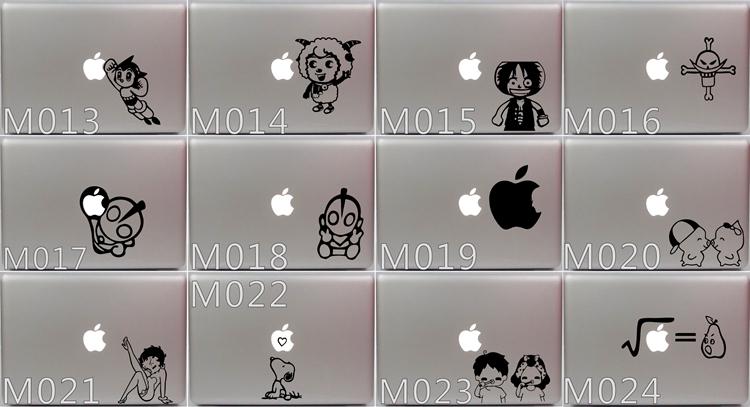 Личность этикеты винила наклейку кожи для Apple Macbook Pro Air 11 13 15 дюймов ноутбук ноутбук чехол крышка наклейка мультфильм кожи M