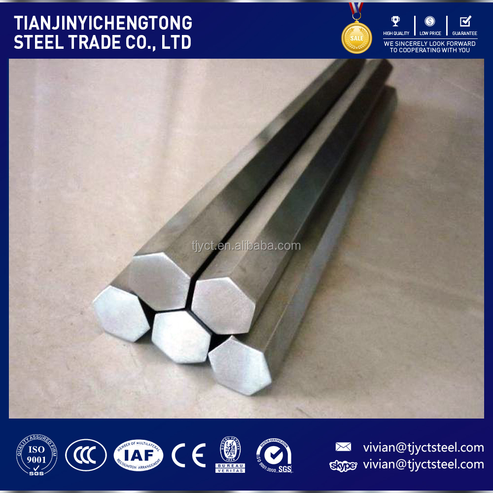 factory price 304 316 stainless steel hexagonal bar