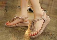 Bohemia sandals for women summer shoes Ladies Summer Beach Flip Flops Shoes