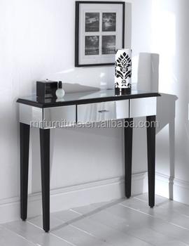 Uk Modern Mirrored Vanity Dressing Table