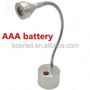 2w Wall Mounted Battery Operated Led Lights