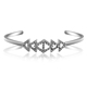 Stainless Steel New Models Indian Fashion Silver Diamond Sex Bangle