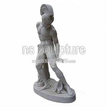 Cheap Greek 12 Olympian Gods Ares Marble Statues Sculpture NSMS1756
