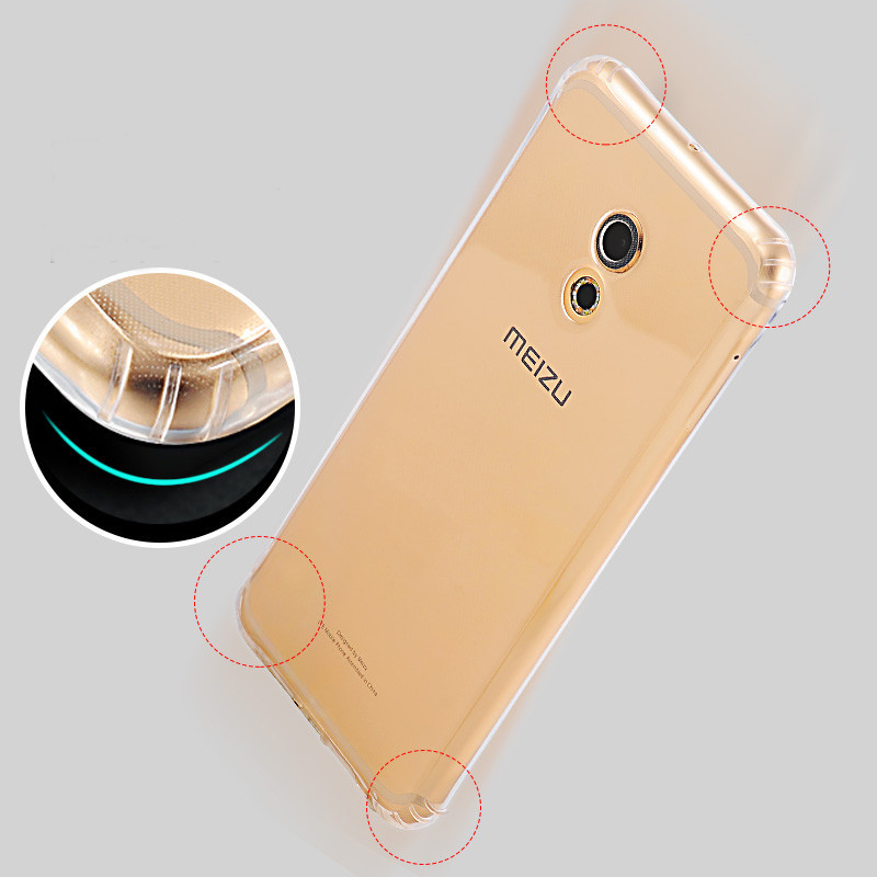 High Quality ultra-thin TPU Case For Meizu Pro 6 Note3 M6 transparent clear soft TPU Back Cover Case Meizu Pro 6 Note3 case