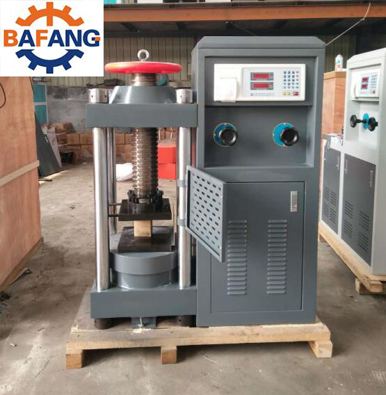 Automatic testing equipment Concrete Compression Strength Testing Machine