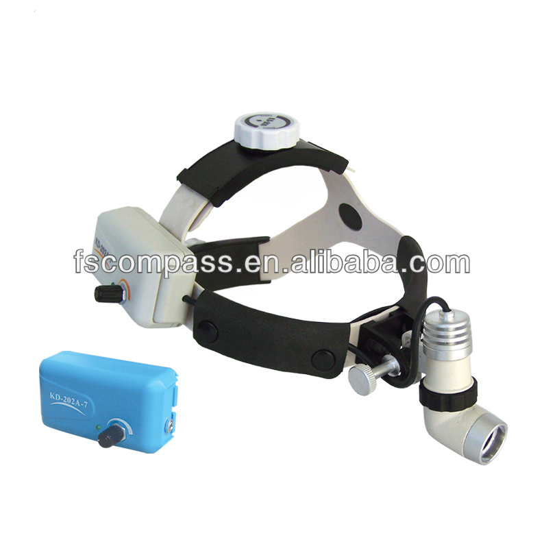 LED 3W Wireless ENT Head light, cordless dental head lamp