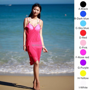 ccd2c1ac56 BestDance Sexy Women's Bikini Swimwear show Cover Up Vacation Beach Dress  Skirt Sarong Wrap