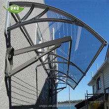 Retractable free standing awning /front door fiberglass awning&canopy hardware