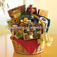 Straw baskets for gifts wholesale latest with 100%handmade
