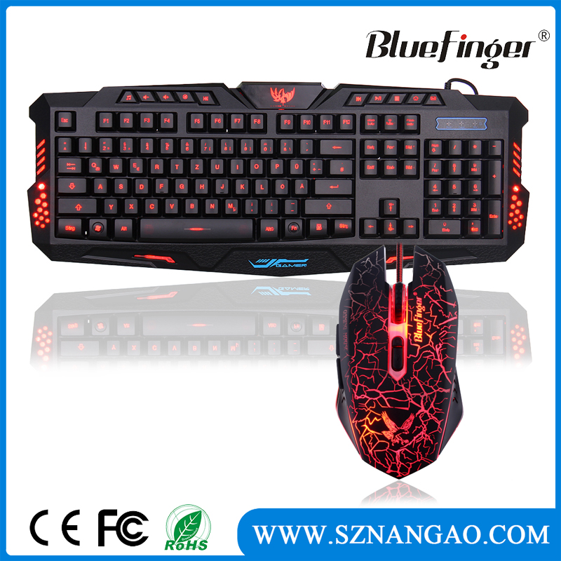 BfKM-V200 Mechanical gaming keyboard and mouse