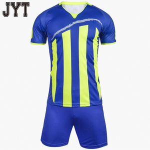 2018 cheap custom striped boys soccer jerseys printing logo design pattern american football jersey with thai quality
