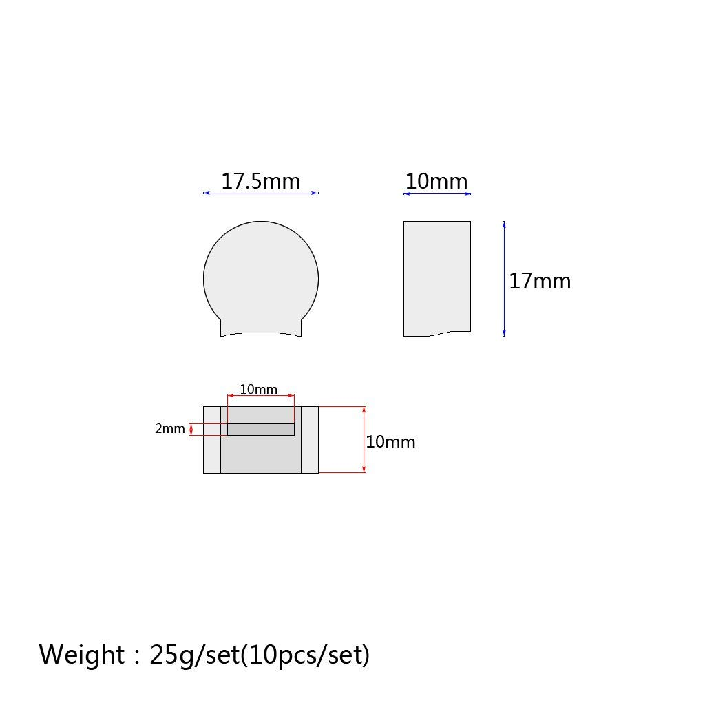Mech Solutions Ltd NTC 3950 100K Thermistor with 1 Meter Wiring and Female Pin Head for Creality CR-10//CR-10S S4 S5 ANET A6 A8 RepRap 3D Printer Heatbed or Hot End Pack of 6