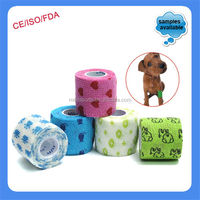 China Supplier Medical veterinary Equine custom printed horse bandage