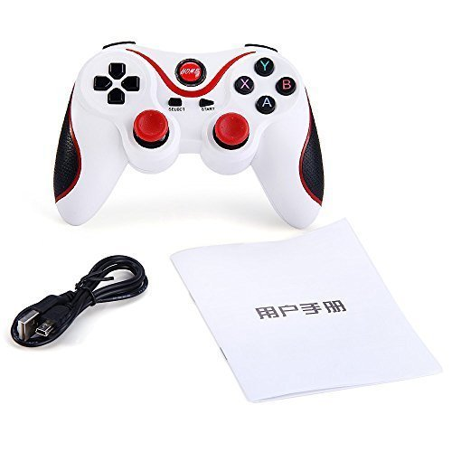 Bluetooth Game Controller Wireless Gamepad Joypad Joystick with Phone Clip for Android