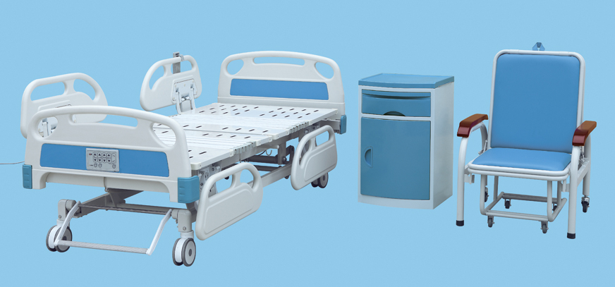 Bossay BS-858 Hill rom Five Function Electirc Hospital bed