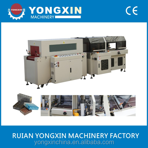 Hot Shrink Packing And Seal Machine For Green Tea Box