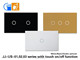 US standard smart switch form home automation soft touch switch AC 220V JJ-US-01AB
