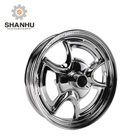 High quality cheap wholesale 15 inch alloy sport scooter motorcycle rear wheel hub rim