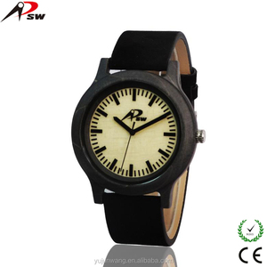 Wholesale Luxury Big Face Branded Best men wrist watch wood 2017