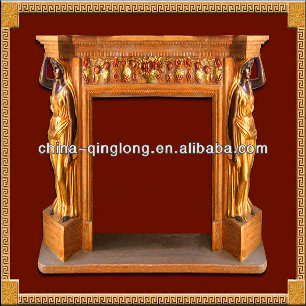 Fireplace Accessory Stone Fireplace Floating Fireplace Made in China