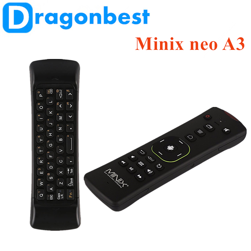 2017 New Minix neo A3 Wireless air mouse 2.4g wireless universal remote control with Bluetooth 4.0 Keyboard Voice