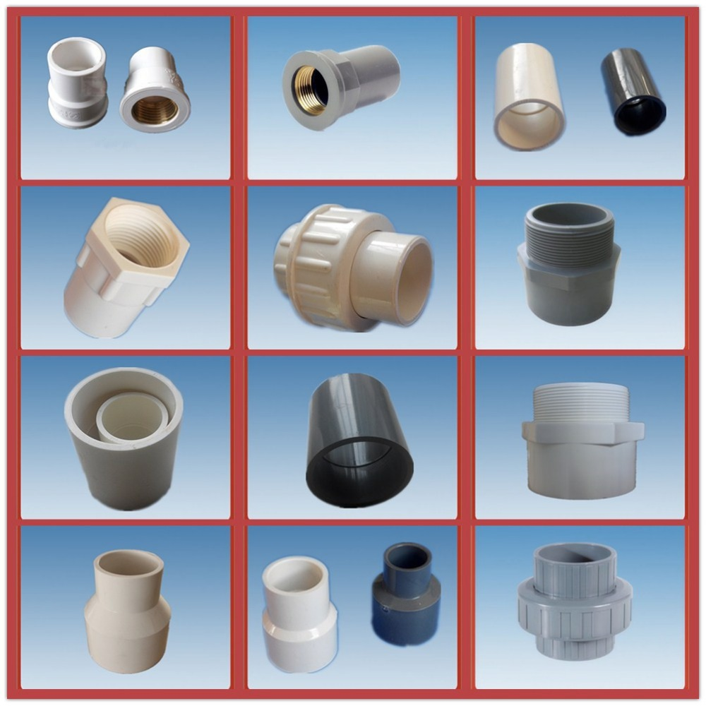 China pvc pipe fittings and adapters femal copper coupling