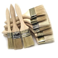 Good quality Bristle Wall Paint Brush with Wooden Handle in Guangzhou