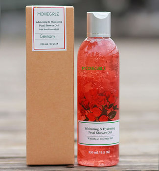 Whitening & Hydrating Petal perfume liquid soap shower gel with Rose essential oil for italian market-648013
