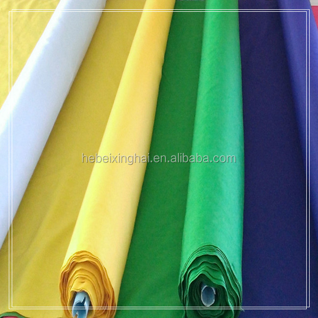 Wholesale Plain Dye Poplin 65% 35% TC Pocketing Fabric for Garment