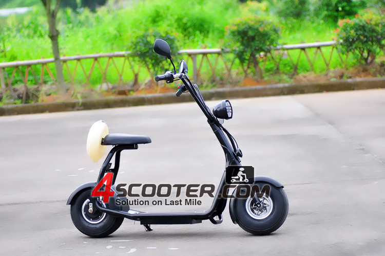 2016 New Wheel One Piece Solid Frame Design Electric Scooter Motorcycle