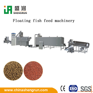 Fish Floating Feed Sinking Food Pellet Machine Extruder Production Line