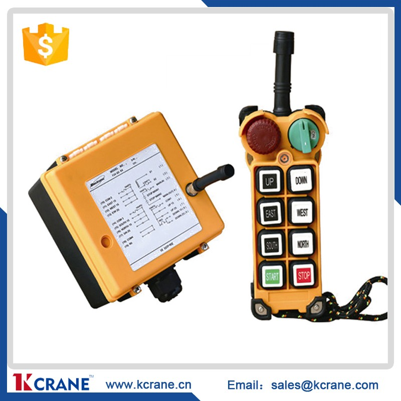 F24-6S Wireless crane remote control wireless, industrial remote controls for hoist, radio hoist remote controller