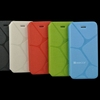 2014 fashion design mobile phone pu leather flip cover for iphone 5c