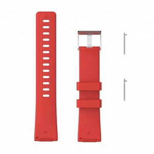 Colorful Silicone Replacement Watchband for fitbit versa band Smart Accessories Bracelet Wrist Strap Small Large Size