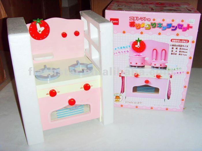 Madera ni os cocina juguetes juguete estufa de gas for Cocina ninos juguete