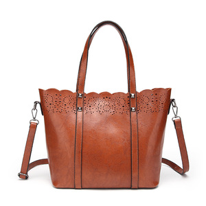 luxury trendy wholesale lady hand bag tote shoulder crossbody bags pu leather women handbags