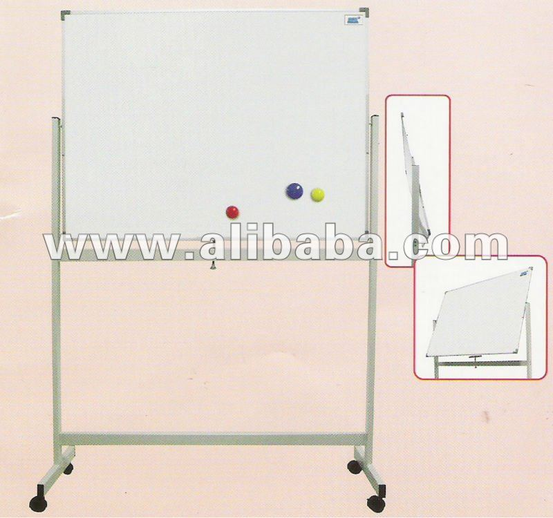 Double Sided White Board Mobile Stand