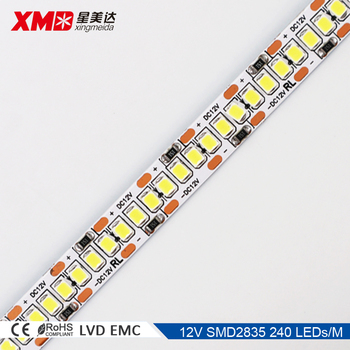 Super Brigh 12v 240 Led 20 24 Lm Each Strip Light 2835 Bright Lights 24lm