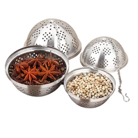 Online Shop Kitchen Accessories Set Creative Food Grade 304 Stainless Steel Tea Strainer Herbs & Spice Tools Seasoning Ball
