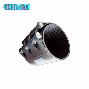 Pipe Fittings For Pvc Pe Upvc Cpvc Pprc Pipes Fittings Full Stainless Steel Repair Clamp