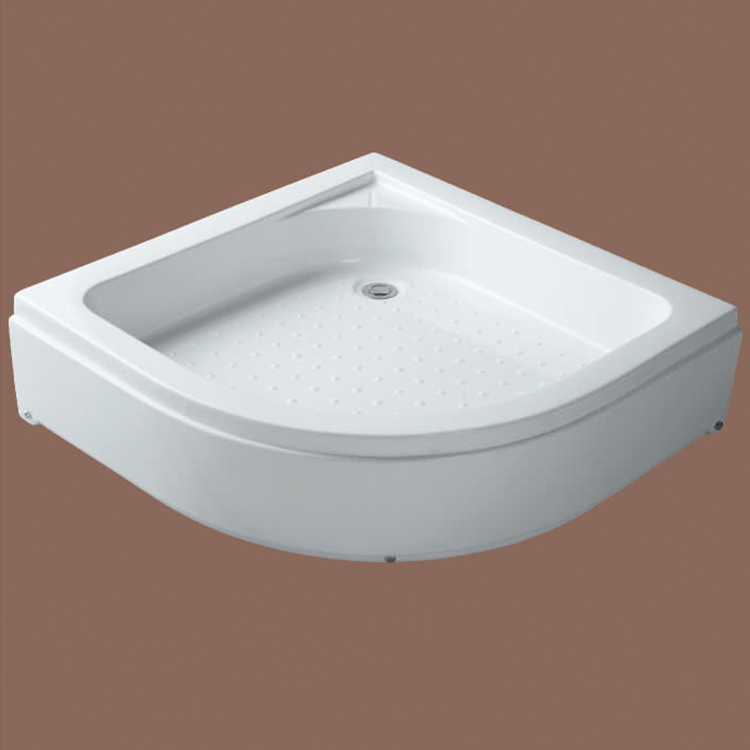 Shower Base White Color 35Cm Abs Sector Shower Tray In Philippines