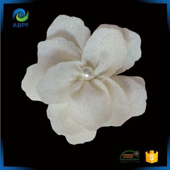 Nice Fake Flower Handmade Decorative Small Fabric For Dresses Flp 006
