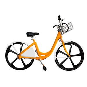 Low cost lower maintenance smart bike sharing system without docking station with shaft drive chainless bicycle