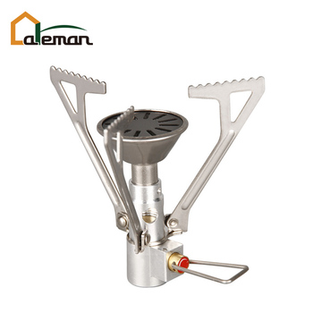 Ultralight Mini Camping Gas Burner, Pocket Compact Hiking Outdoor Adventure Picnic Butane Propane Gas Stove 2300W w/Carry Pouch