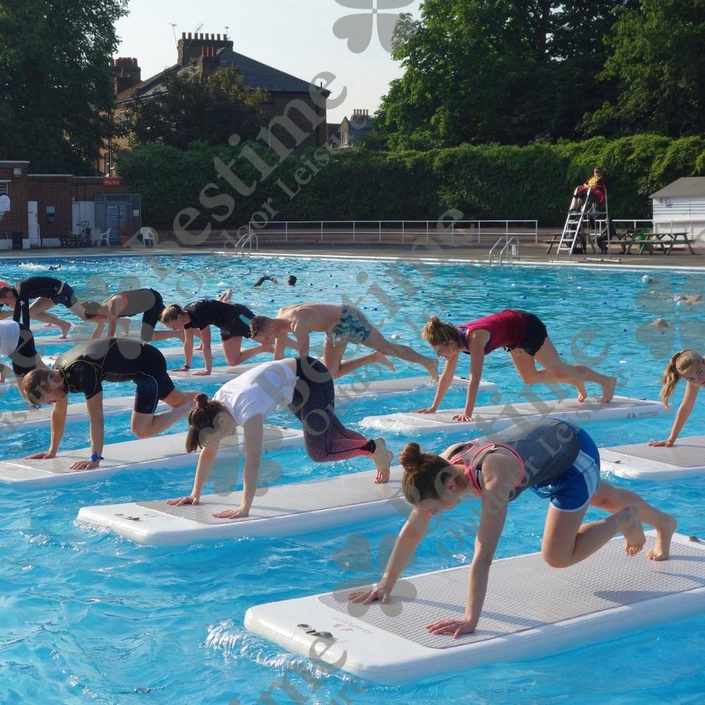 Yoga Mat Oem Floating Gym Mat Swimming Pool Floating Mat - Buy ...