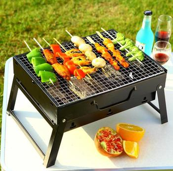 Outdoor portable barbeque grill/Backyard durable charcoal bbq grill