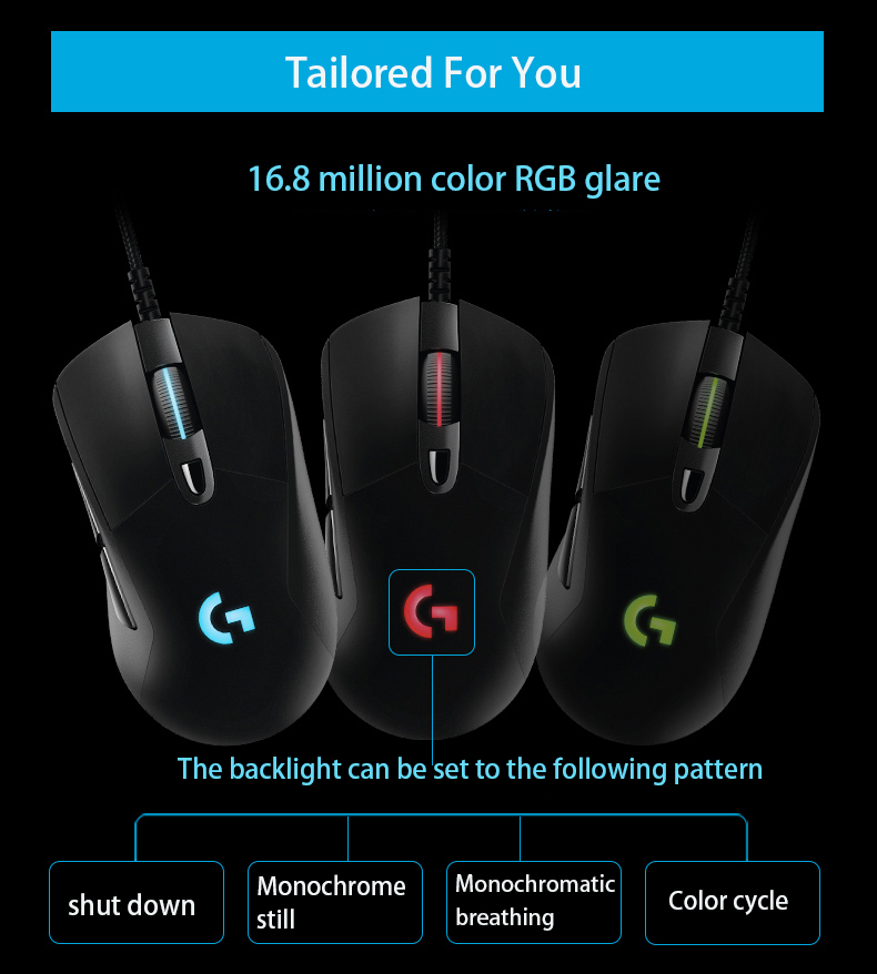 Logitech G403 Scroll Wheel Bug